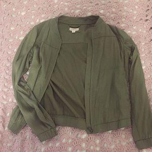 Gorgeous Army Green Bomber Jacket